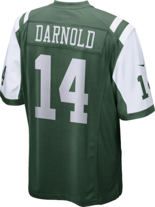 87d900e6196 Sam Darnold  14 Nike Men s New York Jets Home Game Jersey