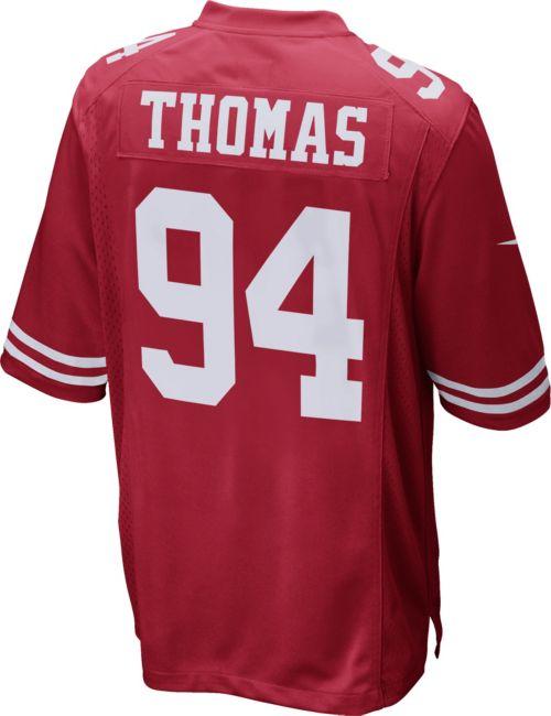 74af51f5eef Nike Men s Home Game Jersey San Francisco 49ers Solomon Thomas  94.  noImageFound. Previous. 1. 2. 3