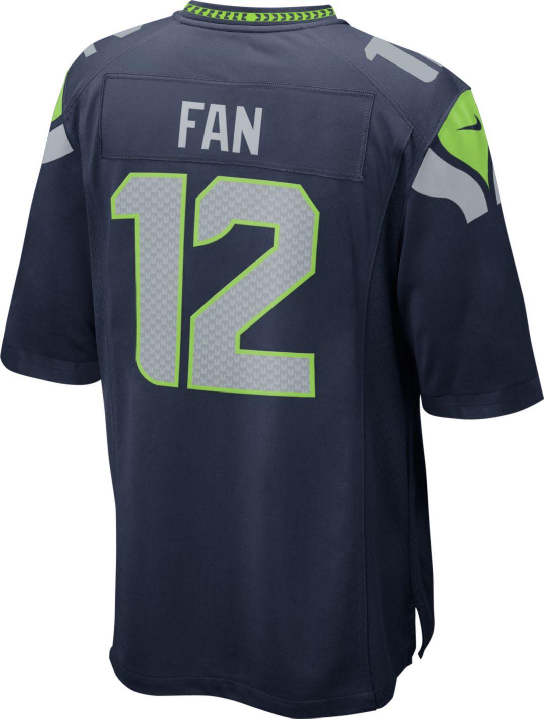 purchase cheap 02d0f 09392 Nike Men's Home Game Jersey Seattle Seahawks Fan #12