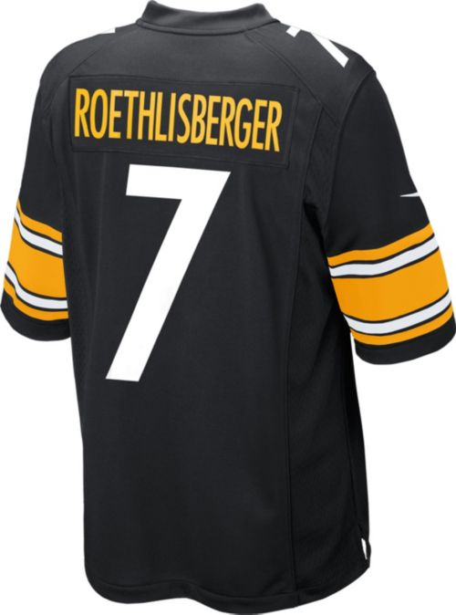 fbe93b299 Nike Men s Home Game Jersey Pittsburgh Steelers Ben Roethlisberger  7.  noImageFound. Previous. 1. 2. 3