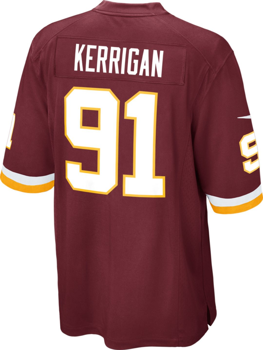 best website 616ce 68a87 Nike Men's Home Game Jersey Washington Redskins Ryan Kerrigan #91