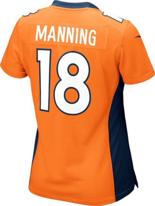 c171d33cc Nike Women s Home Game Jersey Denver Broncos Peyton Manning  18.  noImageFound. Previous. 1. 2. 3