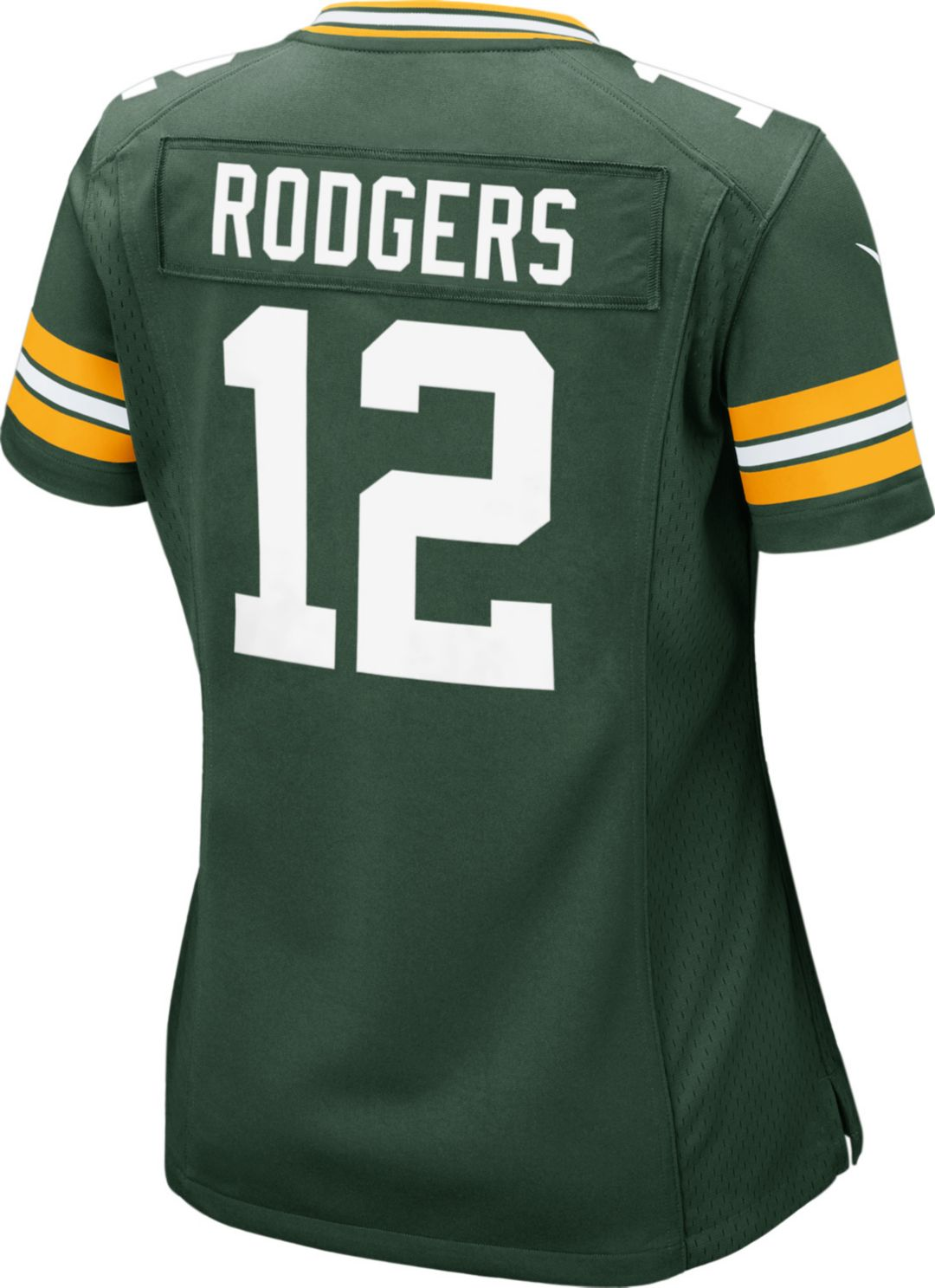 f31fc777 Nike Women's Home Game Jersey Green Bay Packers Aaron Rodgers #12