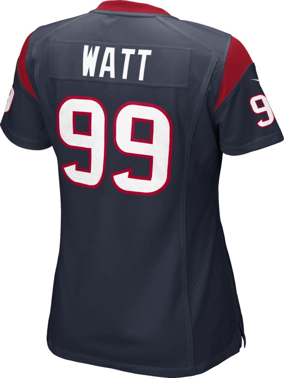 the latest 0f117 d8648 Nike Women's Home Game Jersey Houston Texans J.J. Watt #99