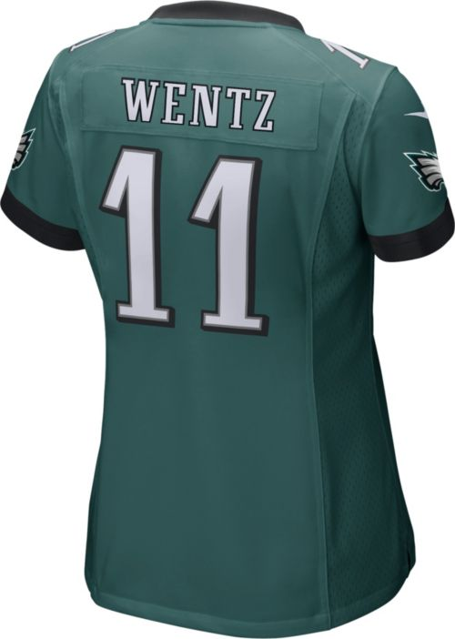 Nike Women s Home Game Jersey Philadelphia Eagles Carson Wentz  11 ... abad9adc0cb4