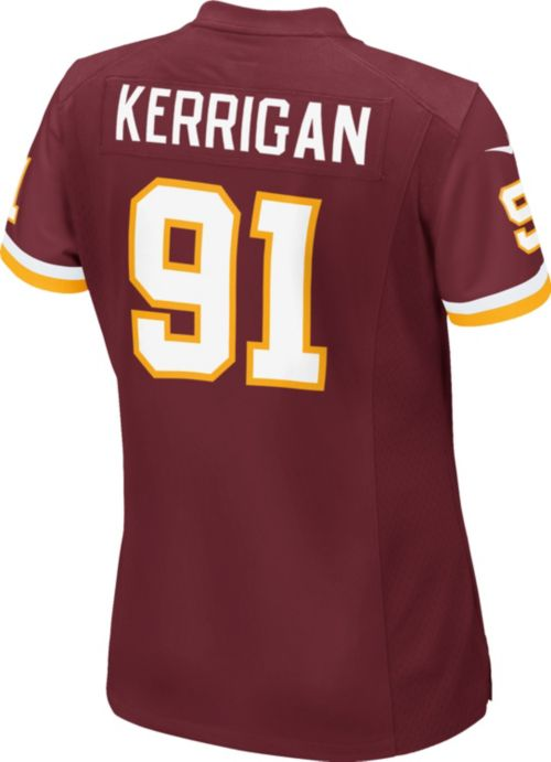 6a179e6b289 Nike Women's Home Game Jersey Washington Redskins Ryan Kerrigan #91.  noImageFound. Previous. 1. 2. 3
