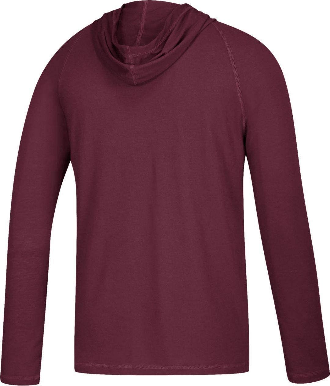 b90e6262c47c adidas Men's Arizona State Sun Devils Maroon 'PT42' Ultimate Long Sleeve  Hooded Shirt 2