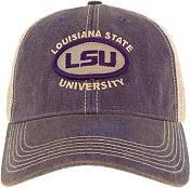 League-Legacy Men's LSU Tigers Purple Old Favorite Adjustable Trucker Hat product image