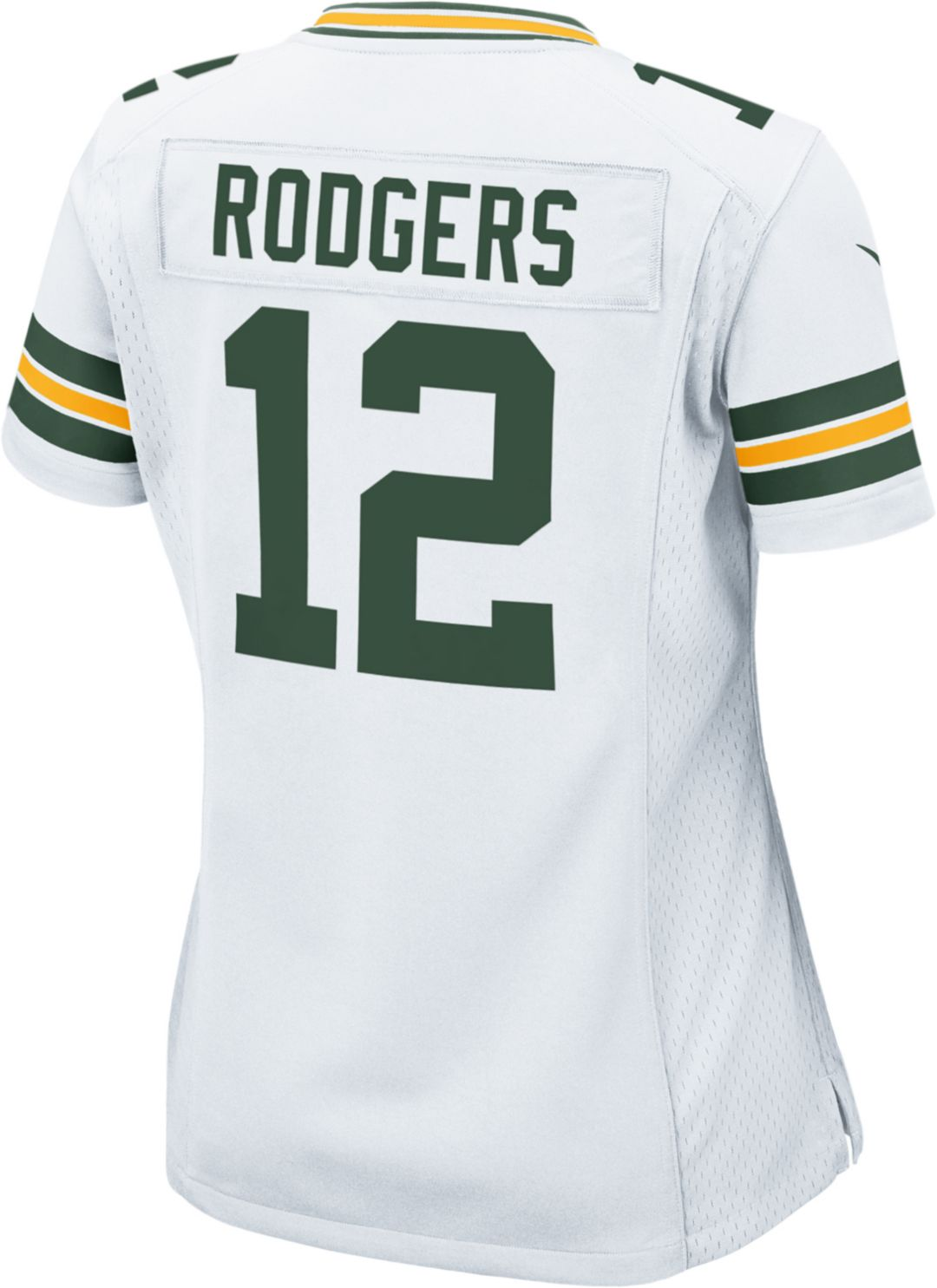 2a323a5d Nike Women's Away Game Jersey Green Bay Packers Aaron Rodgers #12