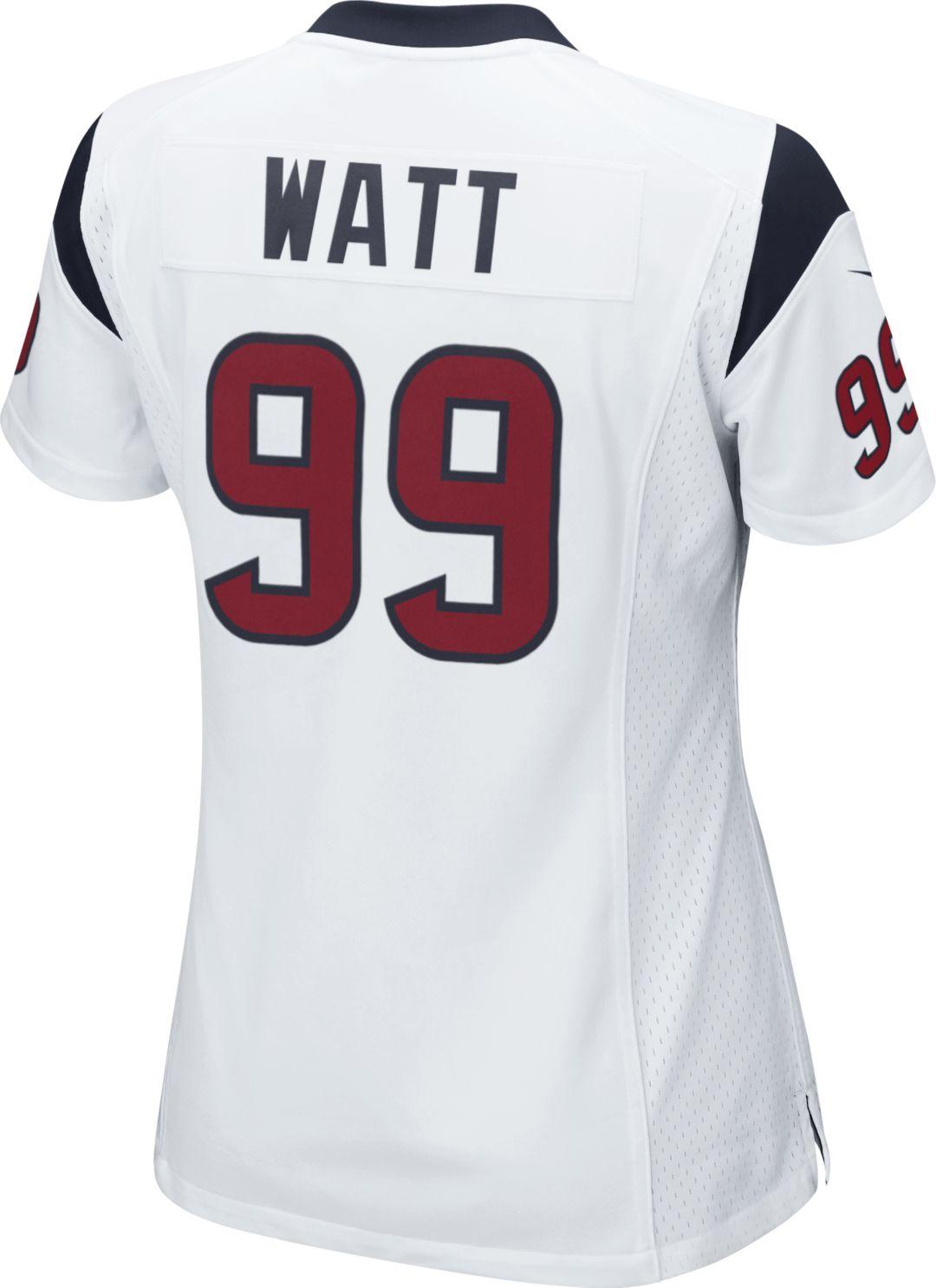 new arrival 6b7ea a0446 Nike Women's Away Game Jersey Houston Texans J.J. Watt #99