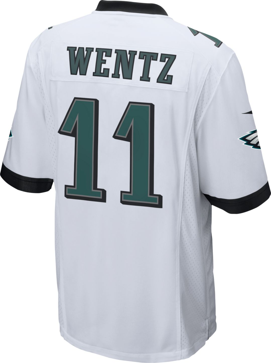 f6d9fd5d Nike Men's Away Game Jersey Philadelphia Eagles Carson Wentz #11 ...