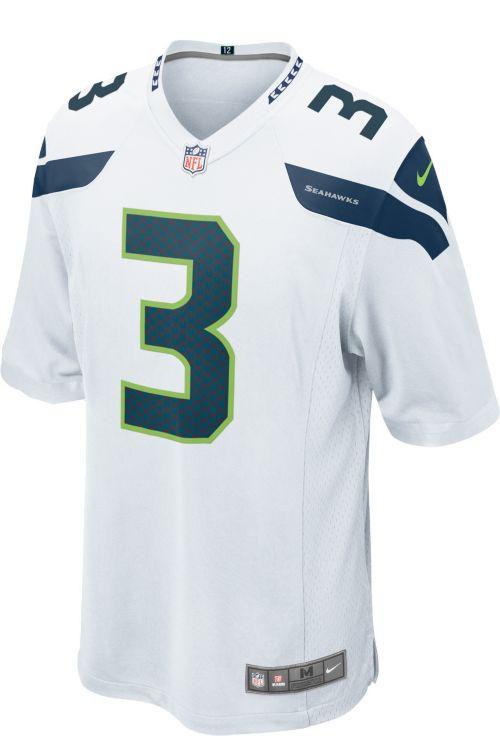Nike Men s Away Game Jersey Seattle Seahawks Russell Wilson  3.  noImageFound. Previous. 1. 2. 3 ba09135b8