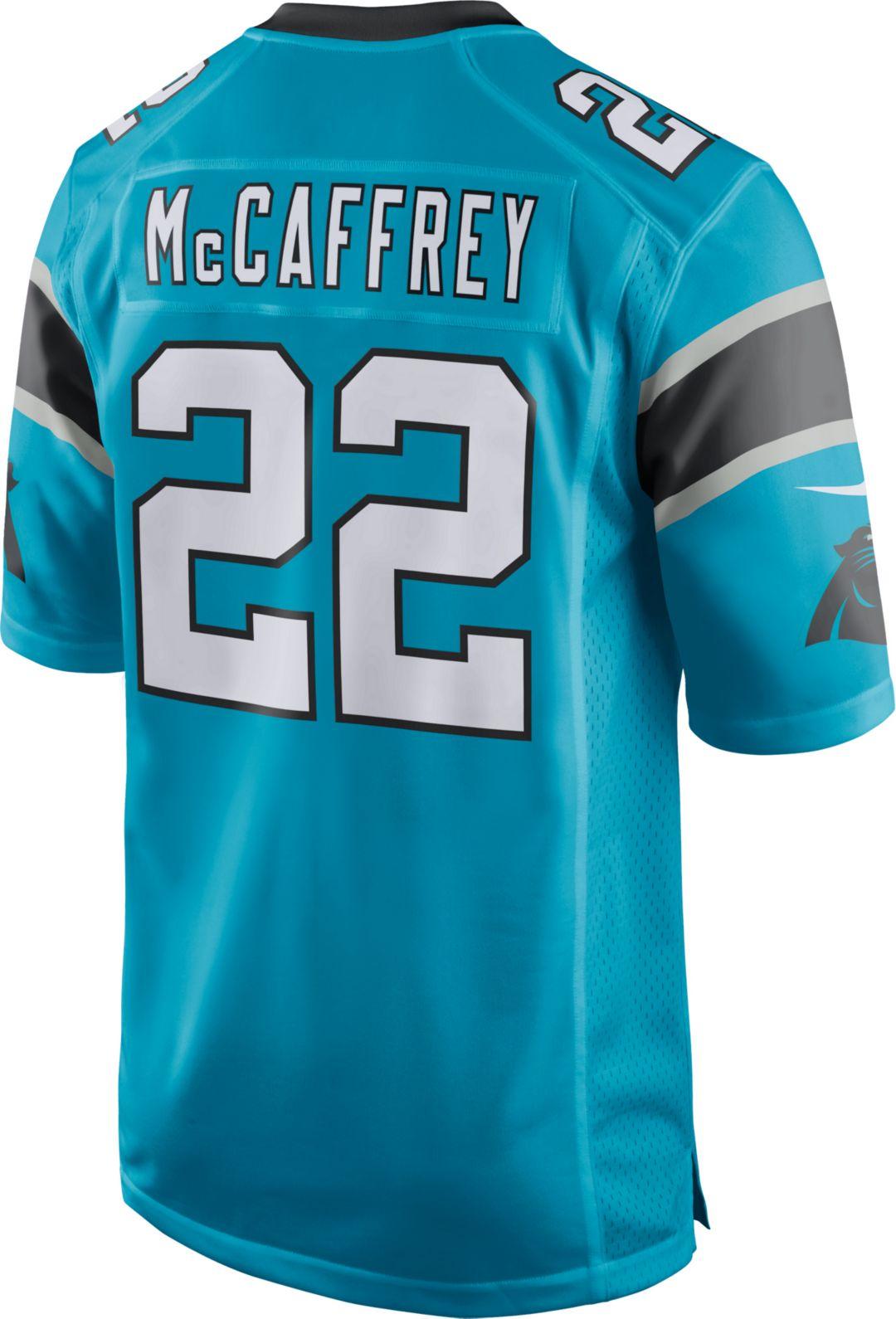 f8444ef0717b1 Nike Men's Alternate Game Jersey Carolina Panthers Christian McCaffrey #22.  noImageFound. Previous. 1. 2. 3