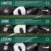 Nike Men's Philadelphia Eagles Carson Wentz #11 Black Game Jersey product image