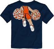 Gen2 Toddler Girls' Auburn Tigers Blue Pom Pom Cheer T-Shirt product image