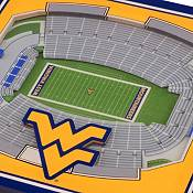 You the Fan West Virginia Mountaineers 3D Stadium Views Coaster Set product image