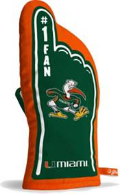 You The Fan Miami Hurricanes #1 Oven Mitt product image
