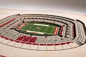 You the Fan Alabama Crimson Tide 5-Layer StadiumViews 3D Wall Art product image