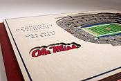 You the Fan Mississippi State Bulldogs 5-Layer StadiumViews 3D Wall Art product image