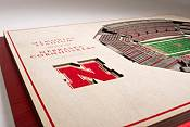 You the Fan Nebraska Cornhuskers 5-Layer StadiumViews 3D Wall Art product image