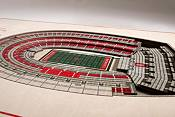 You the Fan Ohio State Buckeyes 5-Layer StadiumViews 3D Wall Art product image