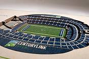 You the Fan Seattle Seahawks 5-Layer StadiumViews 3D Wall Art product image