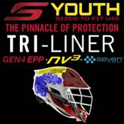 Cascade Youth S Lacrosse Helmet w/ Black Mask product image