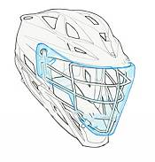 Cascade Adult Field Shield for Lacrosse Helmet 3 Pack product image