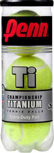 Single Can Penn Championship Titanium XD Tennis Balls