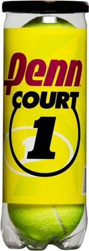 Penn Court One Heavy Duty Tennis Balls – 4 Can Pack product image