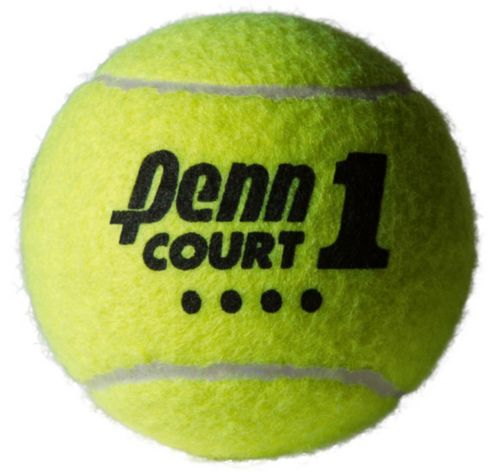 1fb9c8600c0 Penn Court One Heavy Duty Tennis Balls – 4 Can Pack