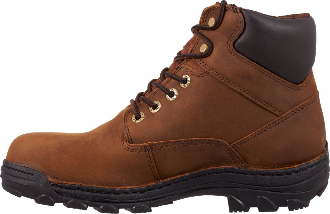 78e10709592 Wolverine Men's Durbin 6'' Waterproof Steel Toe Work Boots