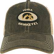 League-Legacy Men's Iowa Hawkeyes Old Favorite Adjustable Trucker Black Hat product image