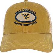 League-Legacy Men's West Virginia Mountaineers Gold Old Favorite Adjustable Trucker Hat product image