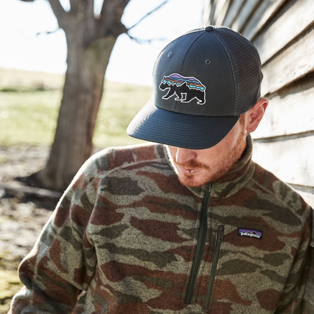 eaa80b2de Patagonia Men's Fitz Roy Bear Trucker Hat