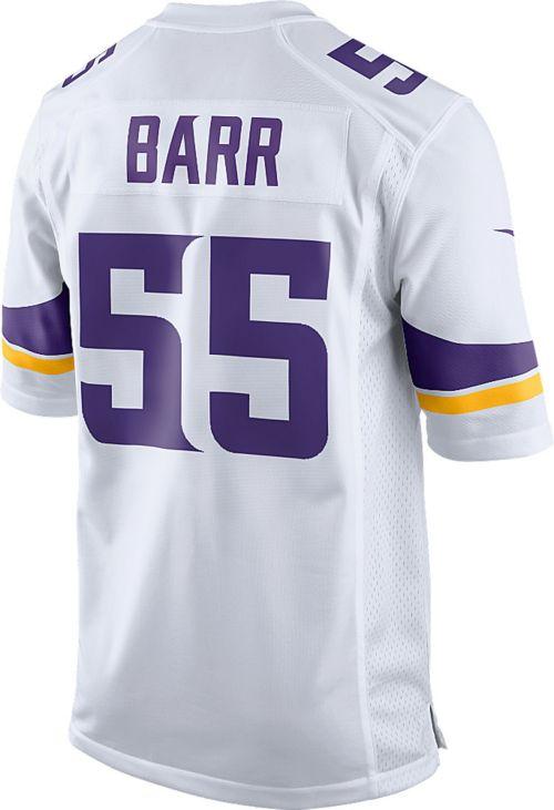 934c5c3f6 Nike Men s Away Game Jersey Minnesota Vikings Anthony Barr  55 ...