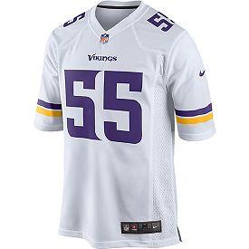651b1da5 Nike Men's Away Game Jersey Minnesota Vikings Anthony Barr #55