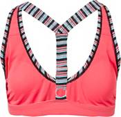 adidas Women's Pulse Stripe V-Back Bikini Top product image
