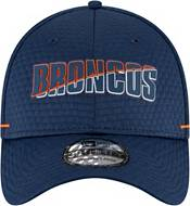 New Era Men's Denver Broncos Navy Summer Sideline 39Thirty Stretch Fit Hat product image