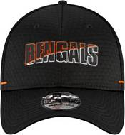 New Era Men's Cincinnati Bengals Black Summer Sideline 39Thirty Stretch Fit Hat product image