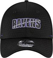 New Era Men's Baltimore Ravens Black Summer Sideline 39Thirty Stretch Fit Hat product image