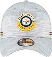 New Era Men's Pittsburgh Steelers Sideline Road 39Thirty Stretch Fit Hat product image