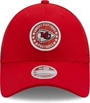 New Era Women's Kansas City Chiefs Red Sparkle Adjustable Trucker Hat product image