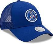 New Era Women's New England Patriots Navy Sparkle Adjustable Trucker Hat product image
