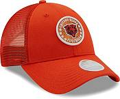 New Era Women's Chicago Bears Orange Sparkle Adjustable Trucker Hat product image