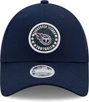 New Era Women's Tennessee Titans Navy Sparkle Adjustable Trucker Hat product image