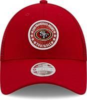 New Era Women's San Francisco 49Ers Brown Sparkle Adjustable Trucker Hat product image