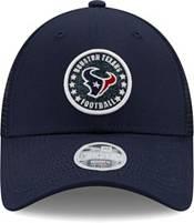 New Era Women's Houston Texans Navy Sparkle Adjustable Trucker Hat product image