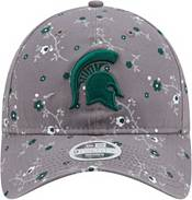 New Era Women's Michigan State Spartans Grey Blossom Adjustable Hat product image