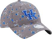 New Era Women's Kentucky Wildcats Grey Blossom Adjustable Hat product image